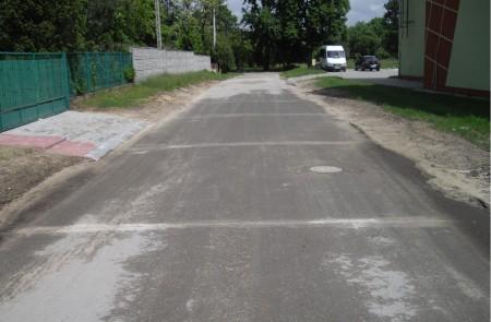 Zaklików - ulica Sportowa