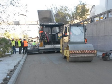 Kolejna droga w technologii betonu wałowanego oddana do użytkowania