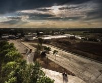 Kolejna zakończona realizacja z betonu wałowanego RCC - zakład MONDI Świecie S.A.