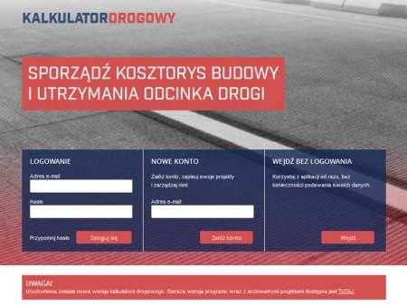 Kalkulator drogowy z patronatem Politechniki Krakowskiej
