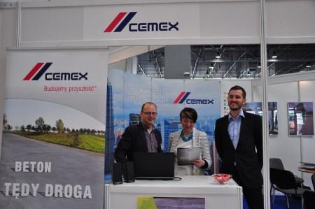 CEMEX na targach drogownictwa w Kielcach